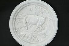 Antike Ofenplatte Keramik ca. 1900