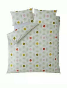 NEW Orla Kiely Striped Petal floral spot Single  Duvet and 2 pillowcases