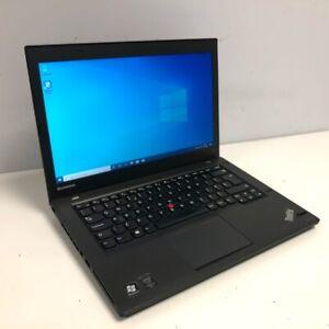 "Lenovo ThinkPad T440 14"" Laptop - Intel I5 4GB Ram 500GB HDD Windows 10 Black"