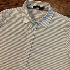 Ralph Lauren RLX Polo Golf Shirt Stripes Small Green