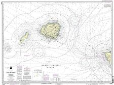 NOAA Chart Oahu to Ni'ihau 15th Edition 19380