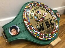 WBC INTERNATIONAL CHAMPION Boxing Belt-SOME IMPERFECTIONS-most accurate REPLICA