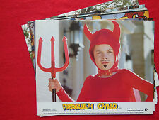 RARE VINTAGE 10x8 UK FOH LOBBY CARD STILL SET(x8) - PROBLEM CHILD - JOHN RITTER