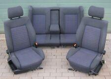 Innenausstattung Sport Sitze Rückbank VW Passat 35i Limousine Bj88-93 Schwarz GT