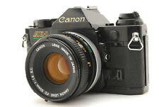 """""""EXC+++"""" [No squeaky shutter] CANON AE-1 PROGRAM + FD 50mm 1.8 / SLR from Japan"""