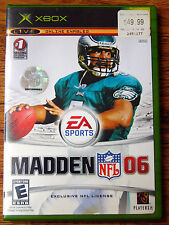 Madden NFL 06 (Microsoft Xbox, 2005) Complete with Booklet