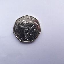 Mr Jeremy Fisher RARE BEATRIX POTTER 50P COIN