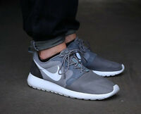 NIKE ROSHERUN HYP Hyperfuse Running Trainers Shoes Gym Roshe UK 7.5 (EU 42) Grey
