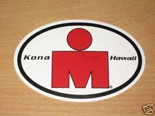 "IRONMAN HAWAII ORIGINAL STICKER ""M-DOT KONA"" TRIATHLON NEU RAR NEW AUFKLEBER"
