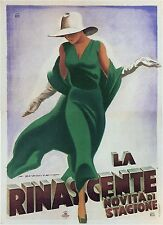 LA RINASCENTE, 1931 Marcello Dudovich Reproduction Rolled CANVAS PRINT 24x32 in.