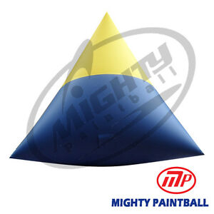 Mighty Paintball Air Bunker (Inflatable Bunker) - Medium Dorito