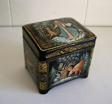 """""""Snowmaiden Chest"""" Lacquer Box - Made in Russia"""