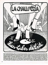 PUBLICITE ADVERTISING   1979   LA CHAUSSERIA   chaussures