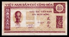 Vietnam 20 dong 1947 Uncirculated Pick 6 Very rare
