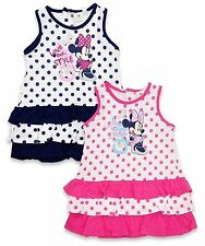 Disney Spotted 100% Cotton Dresses (0-24 Months) for Girls