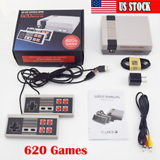 620 Games Built-in Mini Retro TV Game Console Classic NES 2 Controller Toys US