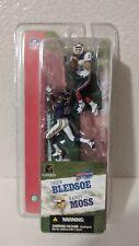 "Drew Bledsoe Bills & Randy Moss Vikings 3"" Action Figure 2-pack McFarlane NFL"