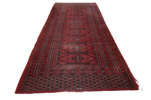 Fein Handgeknüpfter Perser Orientteppich Buchara Jomut carpet rug 160X65cm