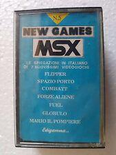 Msx New Games msx n.5