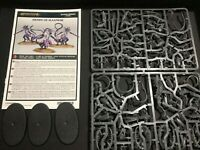 Warhammer Age Of Sigmar / 40K - Daemons - Fiends of Slaanesh x 3 - New on Sprue