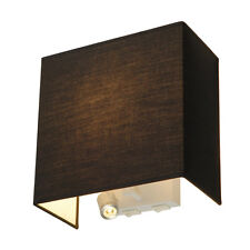 intalite Accanto Spot LED Lampe murale, noir, E27, 24W, LED Spot, 1W, 3000K