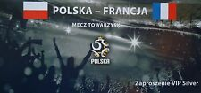 VIP TICKET 11.6.2011 Polska Polen - France Frankreich