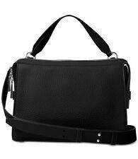 NWT Michael Kors INGRID Medium Shoulder Black Leather Handbag ~ MSRP $298