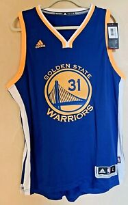 NWT NBA Golden St Warriors Adidas Authentic Jersey - Ezeli #31 Signed Men's Sz L