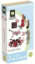CRICUT *QUARTER NOTE* SHAPES & FONT CARTRIDGE *NEW* MUSIC INSTRUMENTS PHRASES