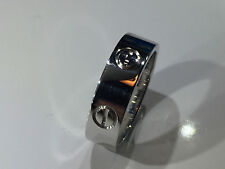 CARTIER LOVE Ring Gr.52 750/000 WEISSGOLD mit original Ring Box