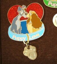 LE 250 Disney Pin✿LADY & THE TRAMP ONLY from Boxed Set Puppy Love is Magical Dog