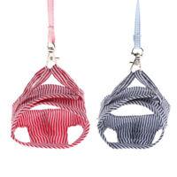 Rabbit Walking Harness Leash Pet Puppies Hamster Leash Vest Traction Rope