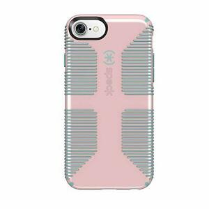 Speck CandyShell Grip Case for iPhone SE (2nd Gen)/8/7(NOT Plus(Pink/River Blue)