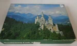 Neuschwanstein Castle Jigsaw Springbok Vintage USA 350 Pieces Bavaria Germany