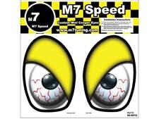 MINI Cooper R50-R53 Underhood Eye Decal Set- Yellow Eyelids | FREE SHIPPING