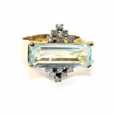 Unbranded Natural Aquamarine Fine Rings