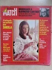 Paris Match N° 1343  SHEILA  Robert HOSSEIN Orson WELLES Charlotte RAMPLING