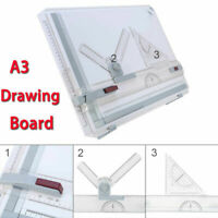 A3 Drawing Board Table With Clear Rule Parallel Motion and Adjustable Angle Pro