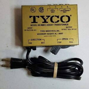 Vintage TYCO Hobby Transformer Model 899C Rail-Road Train Track 120V