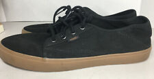 Vans Off The Wall Sneakers Authentic Mens Size 10 Black Shoes