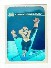 HOLOGRAM COSMIC SPIDERMAN MH1 Marvel Universe Series 1 1990
