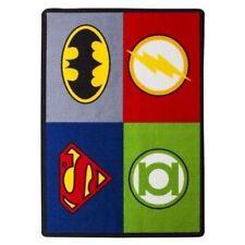 Justice League Area Rug Batman, Superman Green Lantern The Flash 39 x 54 inch