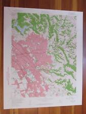 Hayward California 1960 Original Vintage Usgs Topo Map