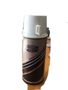 vintage retro thermos flask