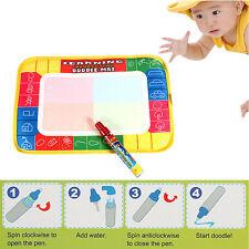 Baby Kinder Spielzeug Malerei Matte Magie Aktivitäten Wasser Schnörkel Zeichen
