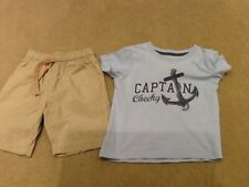 Boys Shorts And T-Shirt To Fit 18-23 Months