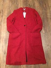 ZARA Women's Wool Coat(Dark Orange, US S, M, L / EUR S, M, L)