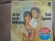 EUROVISION 1972 45 TOURS BELGIQUE SANDRA + ANDRES+