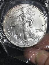 1997 AMERICAN SILVER EAGLE 1 OZ GEM BU BRILLIANT UNC -