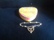 Brighton Heart Bracelet Original Retired Piece Great Condition LOW PRICE